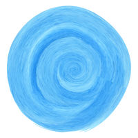 Blue watercolor spiral