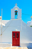 Ancient greek church in Mykonos