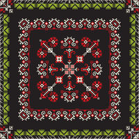 Romanian traditional pattern 193