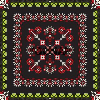 Romanian traditional pattern 193