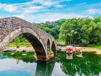 Old bridge in Montenegro