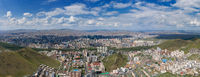 Panorama view of Ulaanbaatar Mongolia