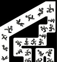 People Trip Fall Cartoon