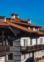 Bansko streets in Bulgaria