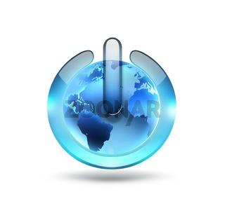 world power button
