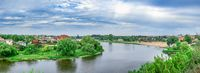 Ros river in Bila Tserkva city, Ukraine