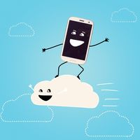 cloud storage.