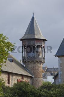 Wasserturm im National Gestüt Lamballe Bretagne