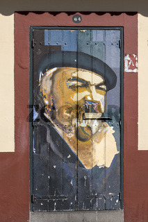 Bemalte Haustüren, Funchal