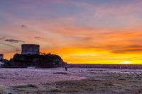 Sunset Bosa Marina, Sardinia