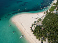 Daku Island, Siargao, The Philippines - Aerial Photograph