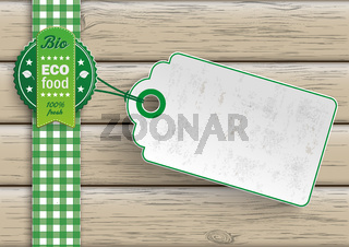 Bio Eco Food Price Sticker