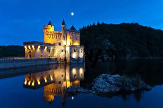 Chateau de la Roche Loire Valley - Castle at Night