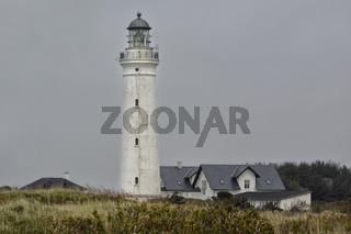 Hirtshals Fyr Leuchtturm Daenemark 1