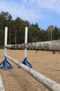 hurdle in show jumping