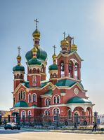 Ukrainian Orthodox Church in Talne, Ukraine