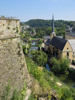 Luxemburg Stadt - Tal der Alzette, Luxemburg