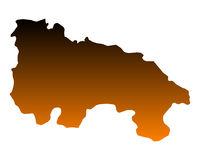 Karte von La Rioja - Map of La Rioja