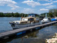 Marina with boats and ships