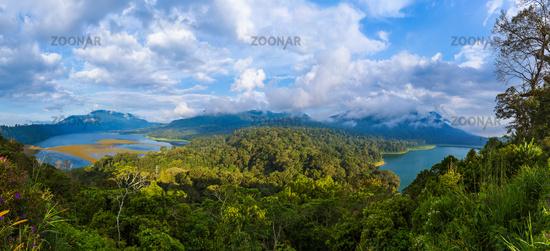 Lakes Buyan and Tamblingan - Bali Island Indonesia