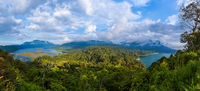 Lakes Buyan and Tamblingan - Bali Island Indonesia