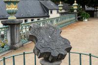 Sundial in Weilburg Castle