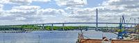 bridge across the Strelasund to the island of Rügen