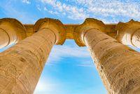 Columns from below