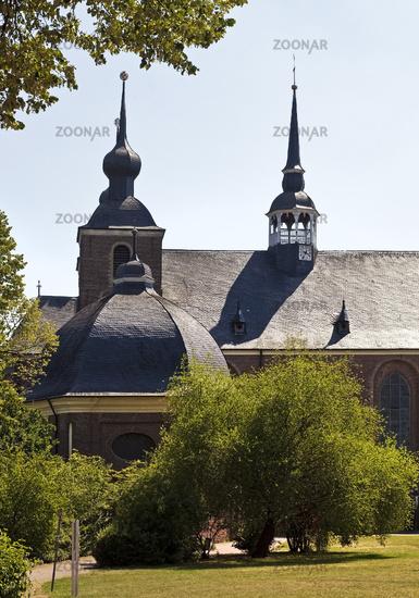 Abbey church of Kamp monastery, Kamp Lintfort, Lower Rhine, Ruhr area, Germamy, Europe