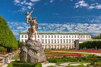 Park of Mirabell castle, Salzburg, Austria