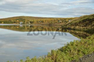 Vesturhópsvatn, Vatnsnes-Halbinsel, Nordwest-Island