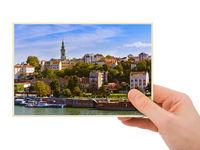 Belgrade Serbia cityscape
