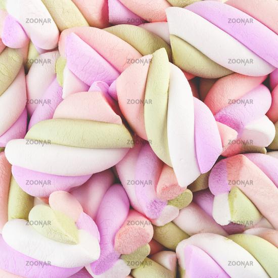 Marshmallow multicolored