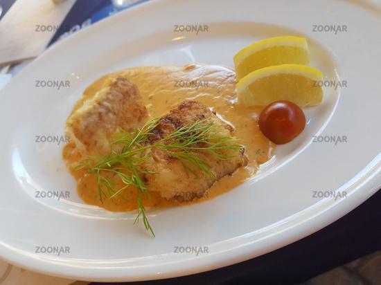 Homemade fish