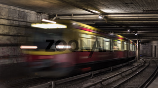 Berlin tunnel systems for infrastructure for public transport