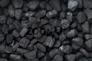 Black Coal For Background