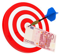 the euro bill target