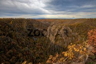 Blick in das Bodetal Harz