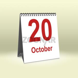 October 20th   20.Oktober