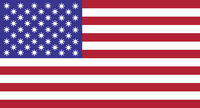 United States of America flag illustration with coronavirus signs instead of stars