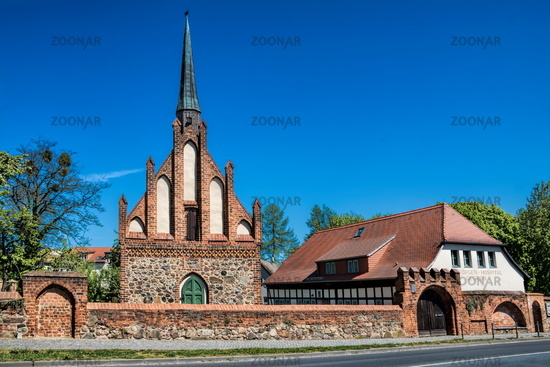 Bernau near Berlin, Germany - April 30th, 2019 - hospital st. georg