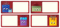 Stylized Christmas theme cards 5