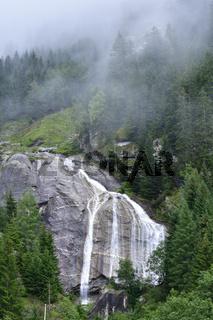Moelltaler Gletscher Wasserfall