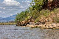 Lake Chamo landscape, Ethiopia Africa