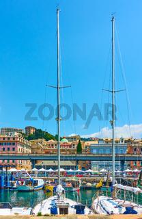 Old Port in Genoa