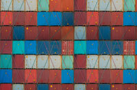 shipping container , logistics / import, export concept  -