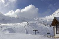 Hintertuxer Gletscher 2660 m high