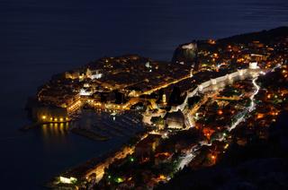 Dubrovnik Nacht - Dubrovnik night 01