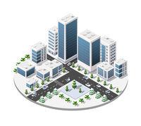 Town center map