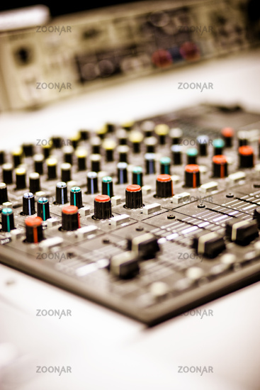 Electronic Audio Control System